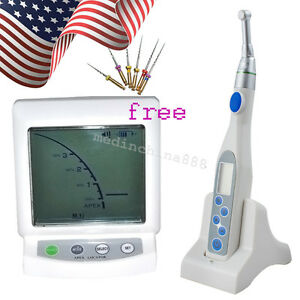 Dentist Cordless Dental Endodontic Endo Motor Reduction 16 1 apex Locator