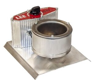 Electric Lead Melting Pot Precision Metal Melter Furnace Casting Molds New Grey