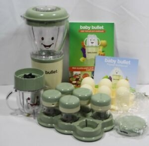 Baby Bullet Food Making System 18 Piece Baby Food Processor