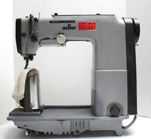 Adler 568 Post Bed Top And Bottom Belt Feed Industrial Sewing Machine Head Only