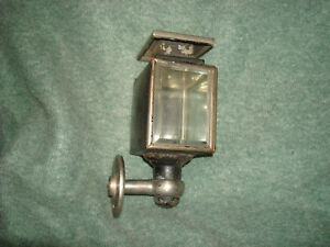 Antique Auto Side Lamp Early 1900 s Edmunds Jones Detroit Mi Driver Side