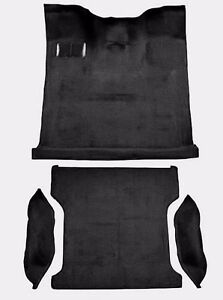 Acc Black 87 93 Ford Bronco Full Size Complete Molded Carpet With Wheel Wells