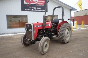 Massey Ferguson 231s Tractor 589 Hours 45 Hp Diesel Engine 3 Point Hitch