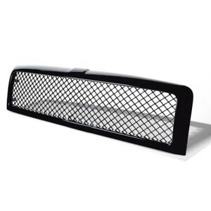 Front Grille Mesh Hood Bumper Grill Cover For 1994 2001 Dodge Ram 1500 2500 3500