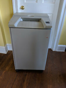 Destroyit 2602 Smc High Security Paper Shredder Auto Oiler Whitaker Brother