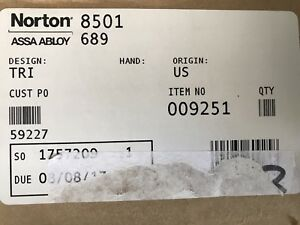 Norton 8501 689 Door Closer