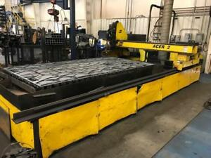 Esab Acer 2 Plasma Cutting System 6 X 12 Table