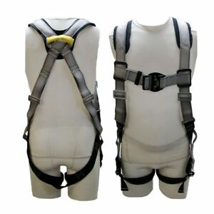 Buckingham h Style Full Body Safety Harness With Lanyard U68d98q48 Fast Ship
