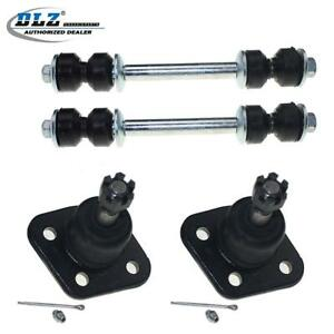 4 Pcs Upper Ball Joint Front Sway Bar Link Suspension For 69 79 Ford Thunderbird