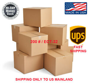 24x24x24 10 pk Shipping Packing Mailing Moving Boxes Corrugated Carton