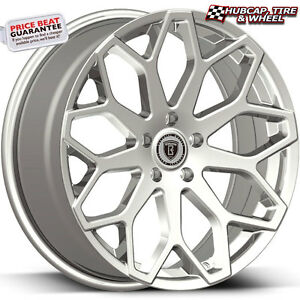 Borghini B28 Chrome 28 x10 Custom Aftermarket Wheels Rims set Of 4
