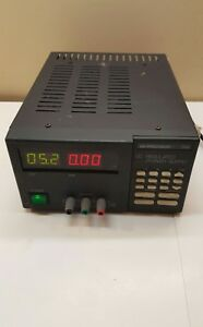 B k Precision 1786 Dc Regulated Power Supply 120vac 60hz 0 30vdc 3a