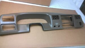 1999 2004 F250 F350 Super Duty Radio Dash Trim Bezel Tan Brown 2000 2001 2002