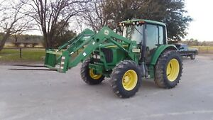 John Deere Mfwd 6420 Tractor Loader Very Clean