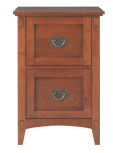 Home Decorators Collection Artisan Medium Oak 2 Drawer File Cabinet