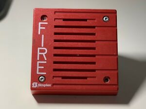 Simplex 4901 9805 Fire Alarm Remote Horn Electromechanical
