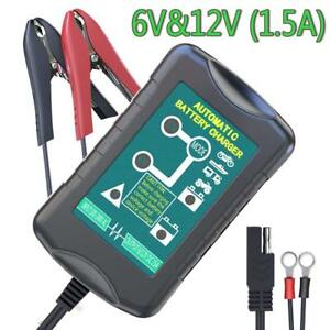 Lst Trickle Battery Charger Automatic Maintainer 6v 12v Portable Smart Float For