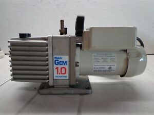 Welch Gem 1 0 Vacuum Pump 8890