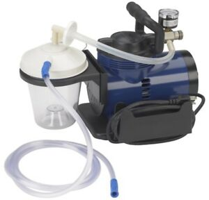 Drive Medical In home Portable Oral Suction Pump Vacuum tubing filter canister