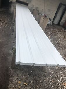 50 Sheets 3x14ft New Metal Roofing Light Grey read Full Descrip