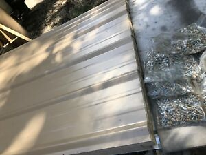 50 Sheets 3x14ft Brand New Metal Roofing Tan Color