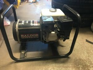 Honda Baldor Pc30h Powerchief Portable Generator 3000 Watt Hard To Find