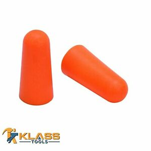 Orange Disposable Earplugs ear Plugs packs Of 25 To 1 000 Pairs