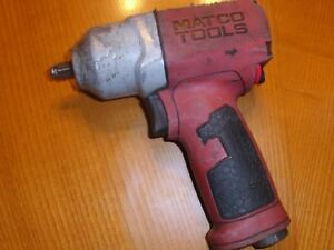 Matco Mt2120 Impact Wrench 3 8 Works Excellent Very Strong