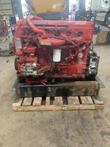 2011 Cummins Isx Egr Diesel Engine Take Out 425hp Good For Rebuild Only
