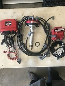 Msd Ignition 77303 Power Grid Ignition System Kit With Rcd Crank Trigger