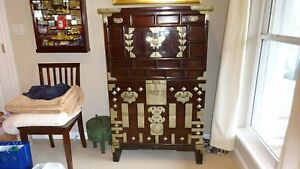 Korean 18th Century Butterfly Chest