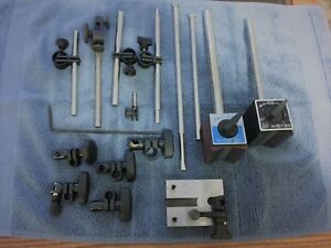 Collection Clamps Posts Test Indicator Base 2 Mag Bases See Photos