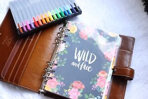 Filofax Malden A5 Leather Ochre Planner