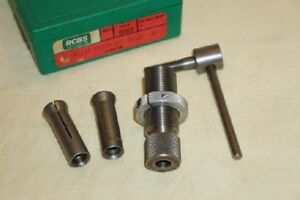 RCBS BULLET PULLER with 35cal. & 30cal. COLLETS