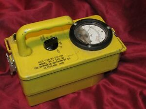 Cold War Civil Defense Cdv 720 Beta Gamma Survey Meter Radiation Detector Nos
