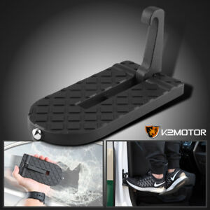 Folding Car Door Latch Hook Step Foot Pedal Ladder 4 Jeep Suv Truck Roof Access