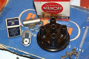 1926 1927 1928 dodge Ignition Distributor Tune Up Kit Condenser Points Rotor