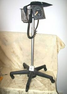 Welch Allyn Blood Pressure Monitor On Wheel Stand
