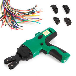 Electric Crimping Tool Wire Crimper Pliers F Insulated Cable Connectors Terminal
