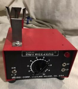 Meisei Corp Hot Weezers Thermal Wire Stripper M10 Power Supply Only tested ex