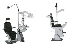 S4optik Lane Package Chair Stand Slit Lamp Phoroptor Acuity Panel 2 Year Warrant