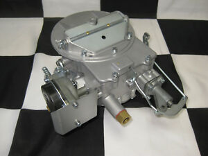 1957 Autolite 2100 2 Barrel Carburetor For The Ford Failane 272 Cu Engine Ecg
