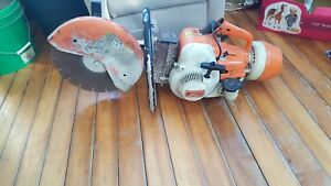 Stihl Ts 350 Super Concrete Cut off Saw
