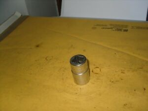 Snap On Swm171 1 2 Drive 12 Point Metric 17mm Shallow Chrome Socket Owners Mark