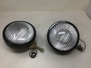 Pair 2 Headlight Pot Model 500 Made By Arrow 40s 50s Ford Tractor 8n 9n Rat Rod
