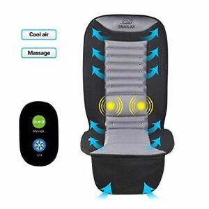 Cooling Car Seat Cushion Soft Massage Pad Air Conditioned Cover Fan Truck Ac New