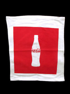 Coca-Cola 100% Cotton Rally Sport Towel Hand Towel - BRAND NEW