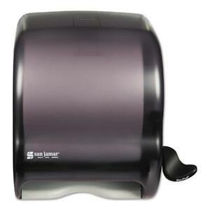 Element Black Lever Roll Towel Dispenser Free Shipping New
