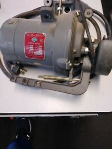 Vintage Consew Clutch Motor Sewing Machine 2 5 42 Hp Industrial Commercial