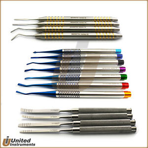 Periodontal Periotome Scalers Pdl Ligaments Elevators Bone Extraction Chisel Set